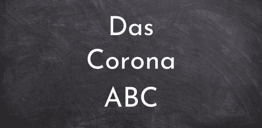 Das Corona ABC-neue Wortkreationen 2020